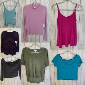 New Lot of 7 Tops from Nordstrom Rack